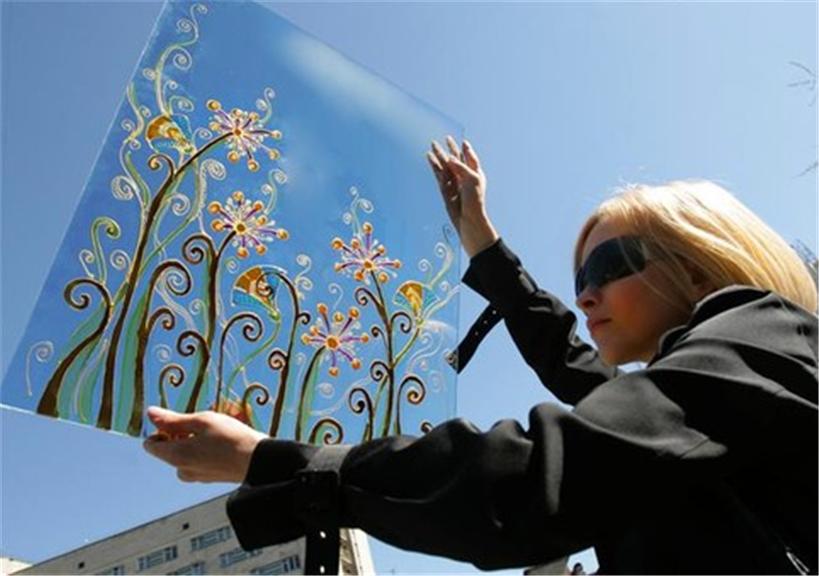 3e52a81d7ac9fc Рисунок в цвете на стекле купить в Львове
