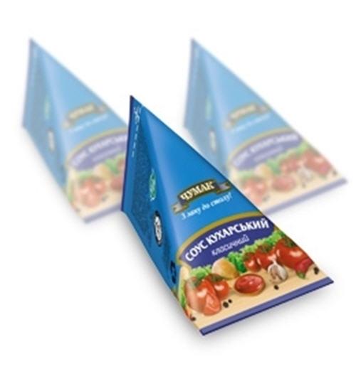 Соус Кухарский класический Пирамидка в упаковке Tetra Classic (65 г)