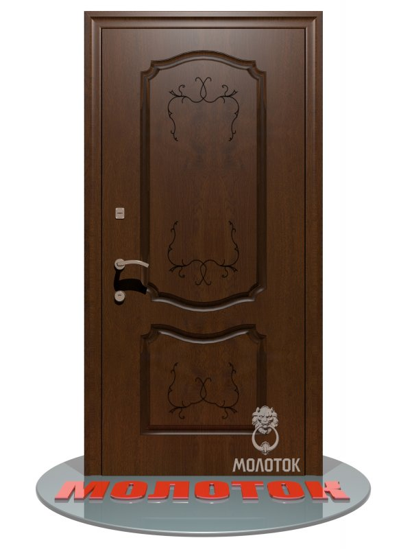 free shipping c5227 22463 Entrance doors to the House 107 Thermo Color Golden oak (patina), size: 880  mm 2050h