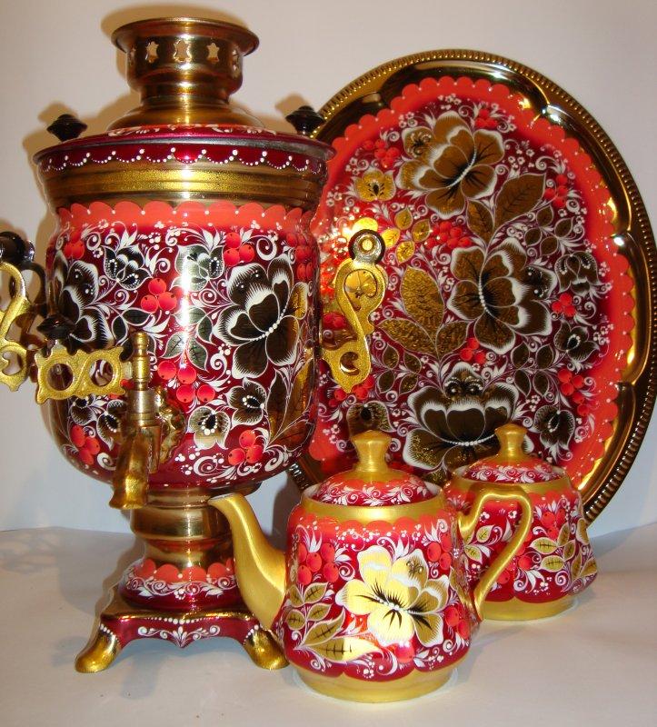 Комплект чайный из 4-х предметов № 4