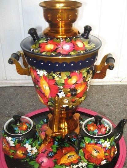 Комплект чайный из 4-х предметов