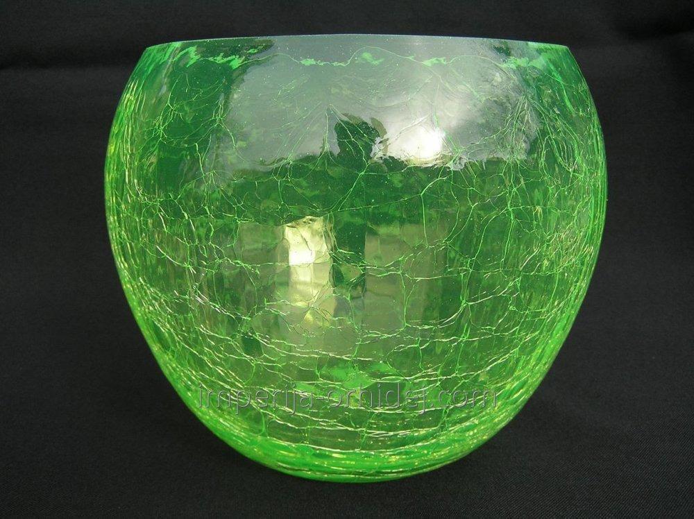 Кашпо для Орхидей Сфера, зелёный, D12,5