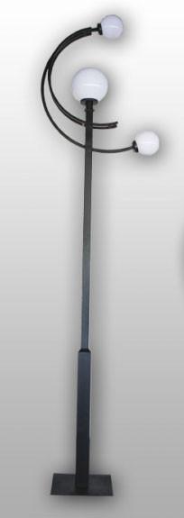 Металлическая опора (фонарь уличный) уличного освещения №3