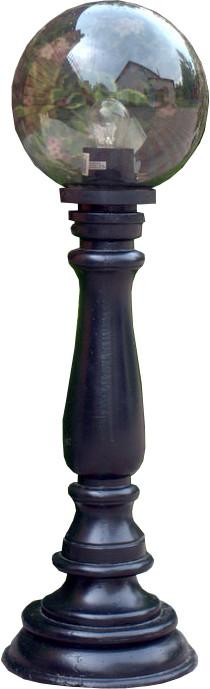 Чугунный столбик (фонарь уличный) уличного освещения №2