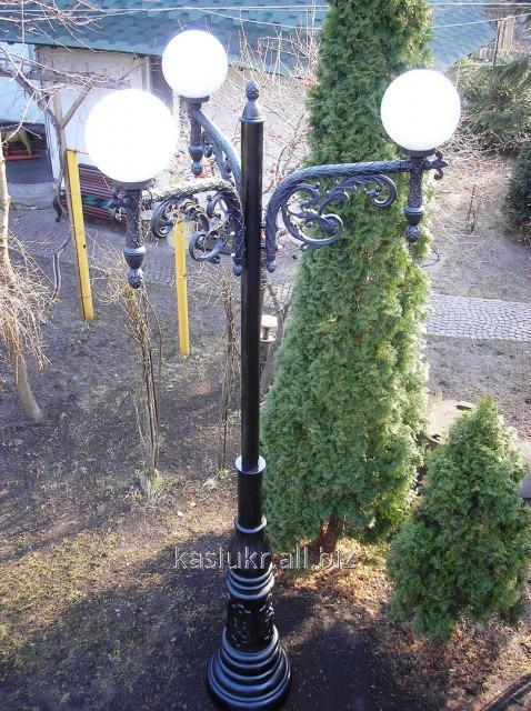 Полимерная опора (фонарь уличный) уличного освещения №4