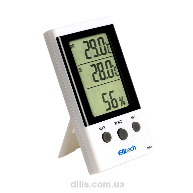 Термогигрометр DT-3 (Великобритания) с термопарой 1.7 м