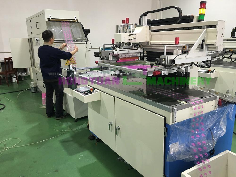 Оборудование для нанесения трафаретной печати