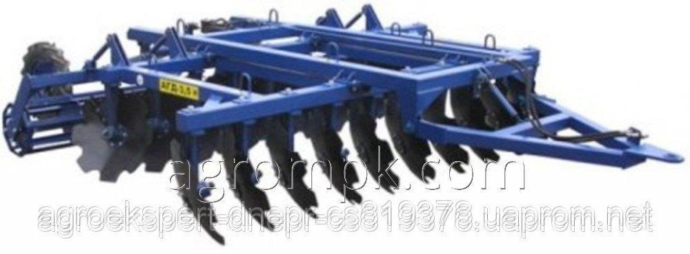 Агрегат почвообрабатывающий дисковый прицепной АГД - 3.5 Н