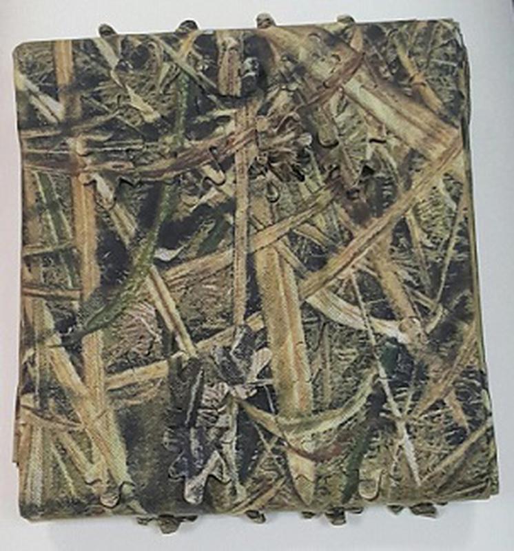 Маскировочный материал Mossy Oak Die Cut, Shadow Grass Blade