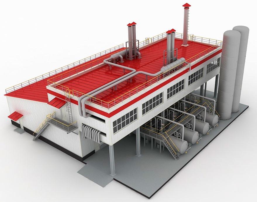 Проектирование заводских зданий