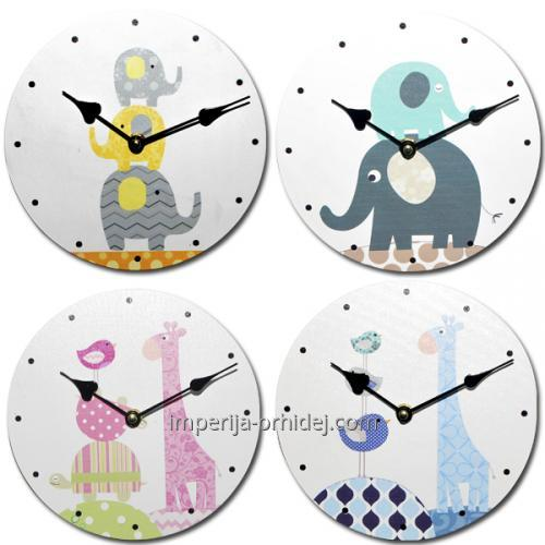 """Часы для детской комнаты """"детство"""" d20 см"""