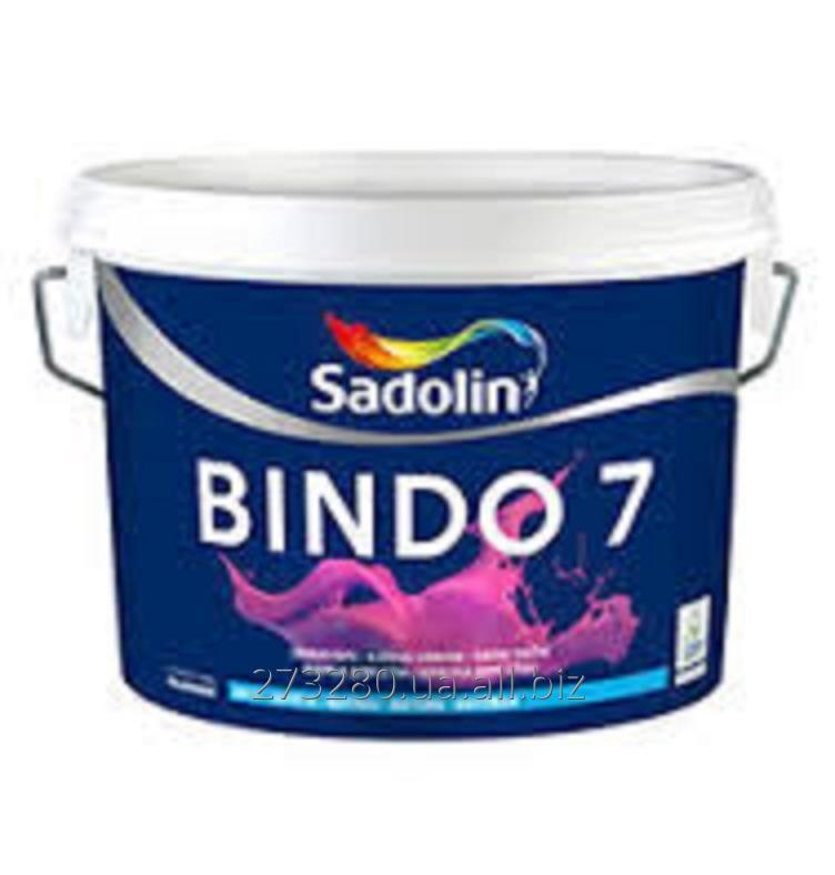 Купить Водоэмульсионная краска Sadolin Bindo 7 (Садолин Биндо 7) 10 л