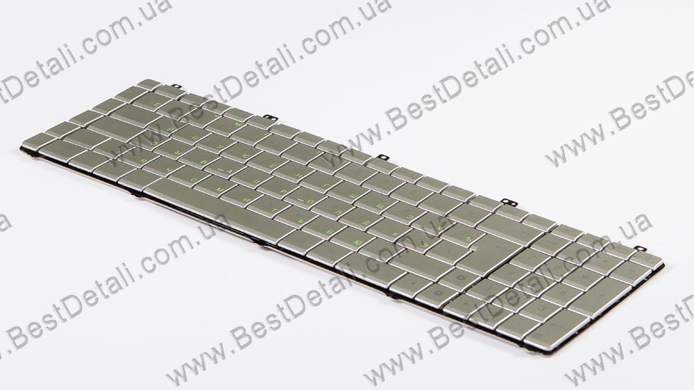 Купить Оригинальная клавиатура для ноутбука ASUS N55, N75, Silver, RU, (N75 version)