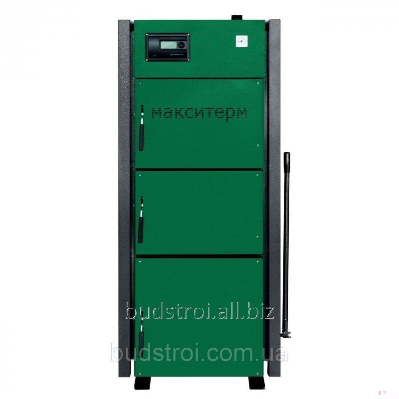 Твердотопливный котел длительного горения Макситерм Профи 17 - 50 кВт