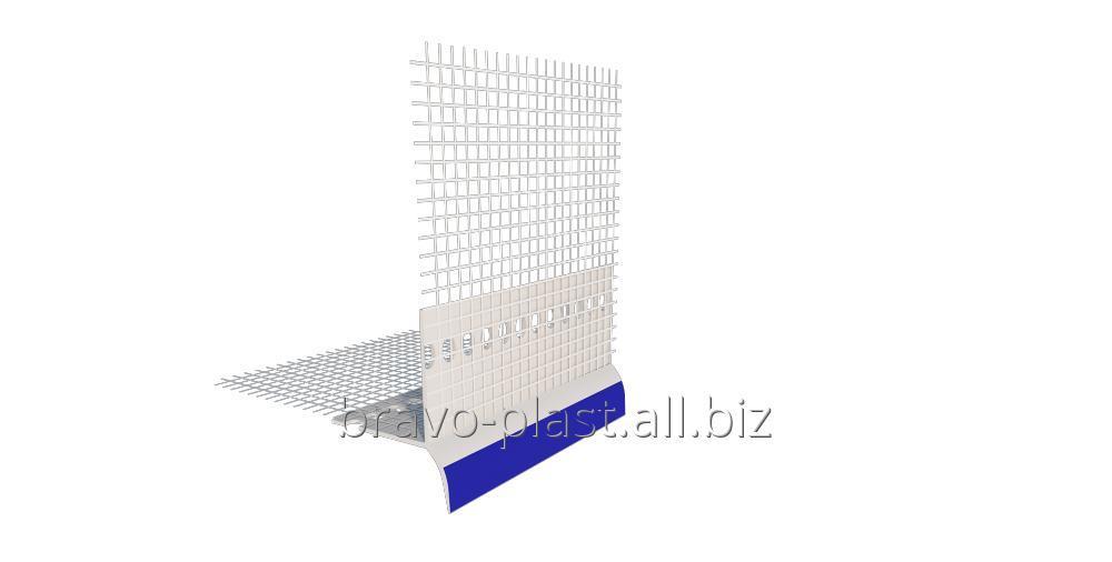 Купить  Капельный профиль с защитной пленкой и стекловолокнистой сеткой