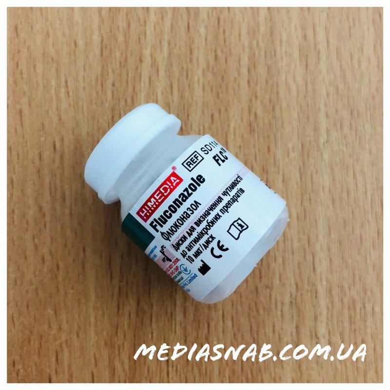 SD114 Диски с флюконазолом 10 мкг