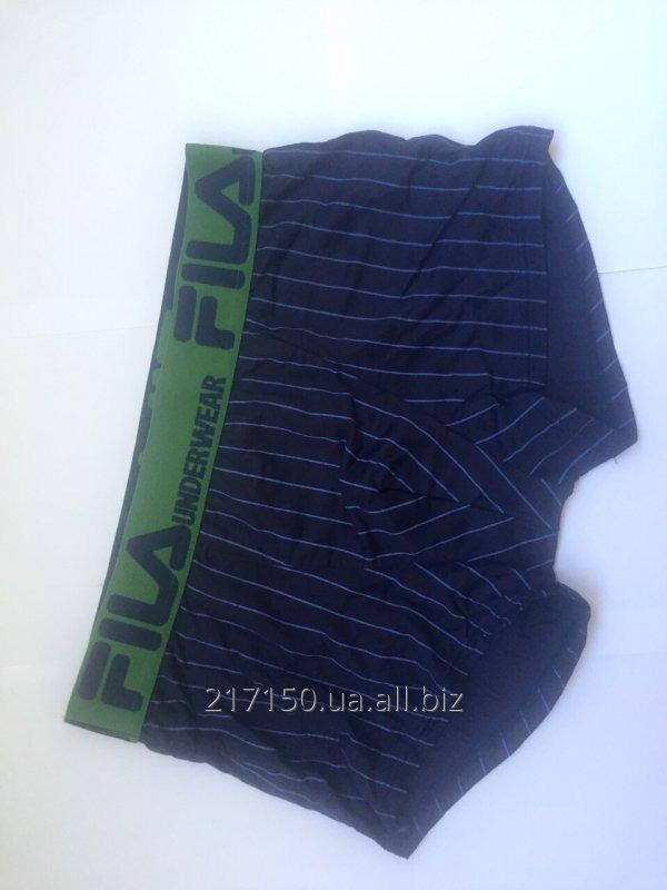Купить Мужское белье FILA (Фила мужские трусы, футболки и майки) сток