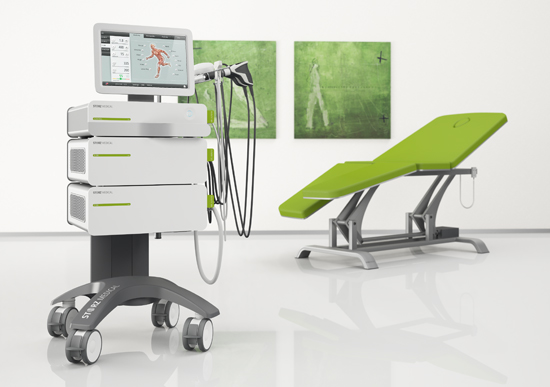 Аппарат для радиальной ударно-волновой терапии DUOLITH SD1 Ultra. Аппарат для литотрипсии