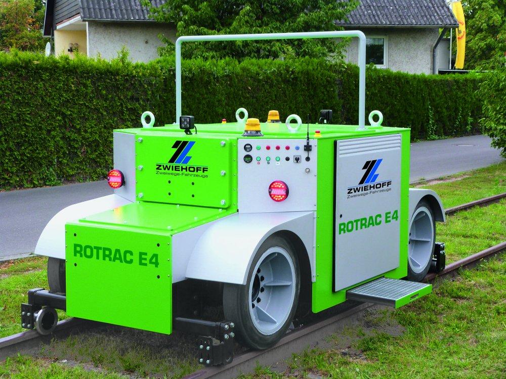 Купить Маневровый модуль, ROTRAC E4, толкатель вагонов, маневровый тягач