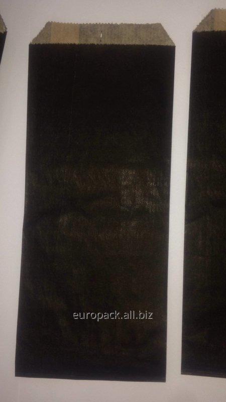 Пакет бумажный упаковочный крафт бурый 220х90х0