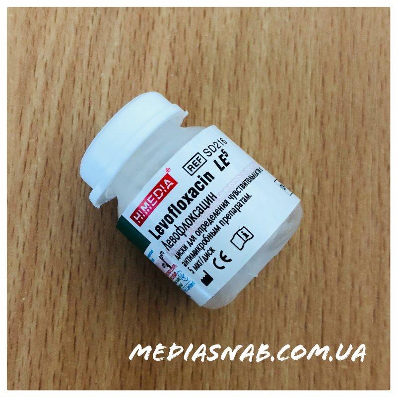 SD216 Диски с левофлоксацином 5 мкг