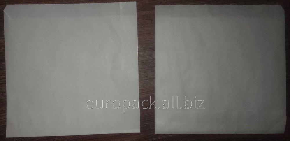 Уголок бумажный белый крафт жироустойчивый 140х140