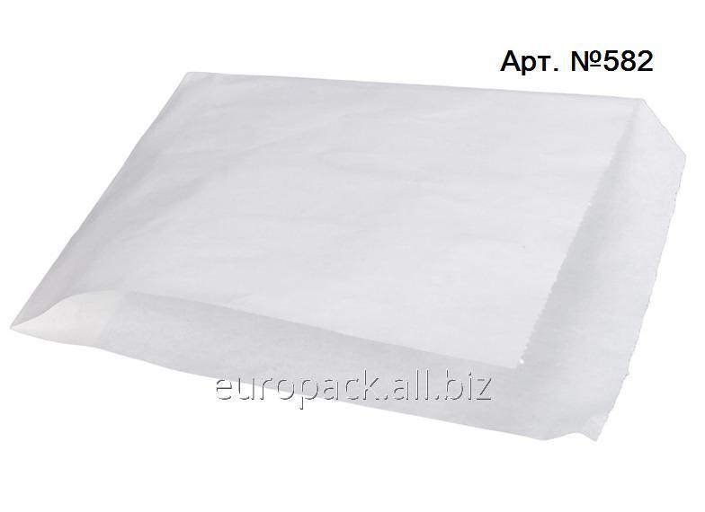 Уголок бумажный белый крафт жироустойчивый 200х140