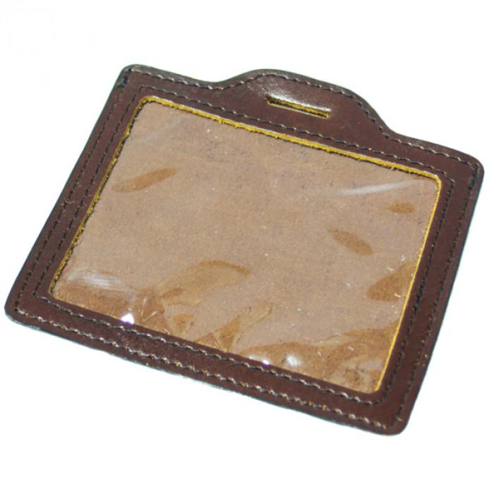 Купить Чехол для бейджика ключа СКД кожаный