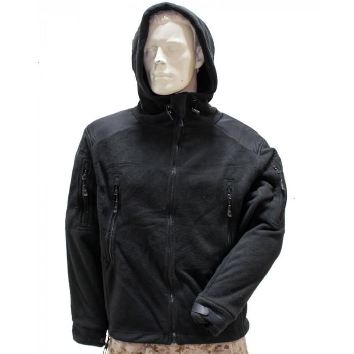 Купить Флисовая кофта армейская США черная