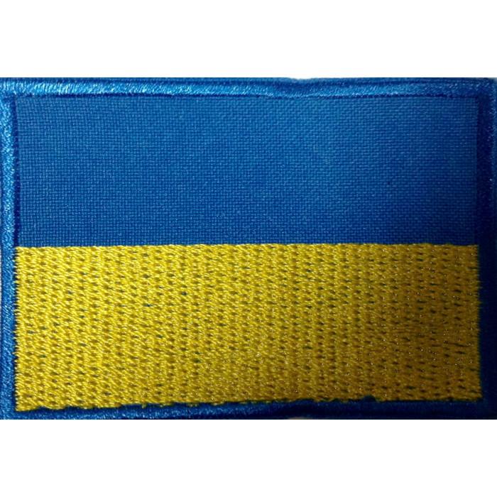 Купить Флаг на липучке Украины (5,5х8 см.)
