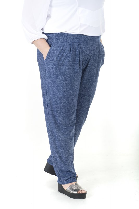 Стильные , красивые брюки больших размеров Фиеста арт. 782Д-1