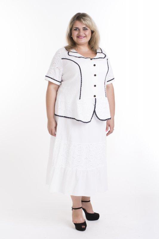 Купить Красивая блуза больших размеров для женщин Прошва арт. 943П-1