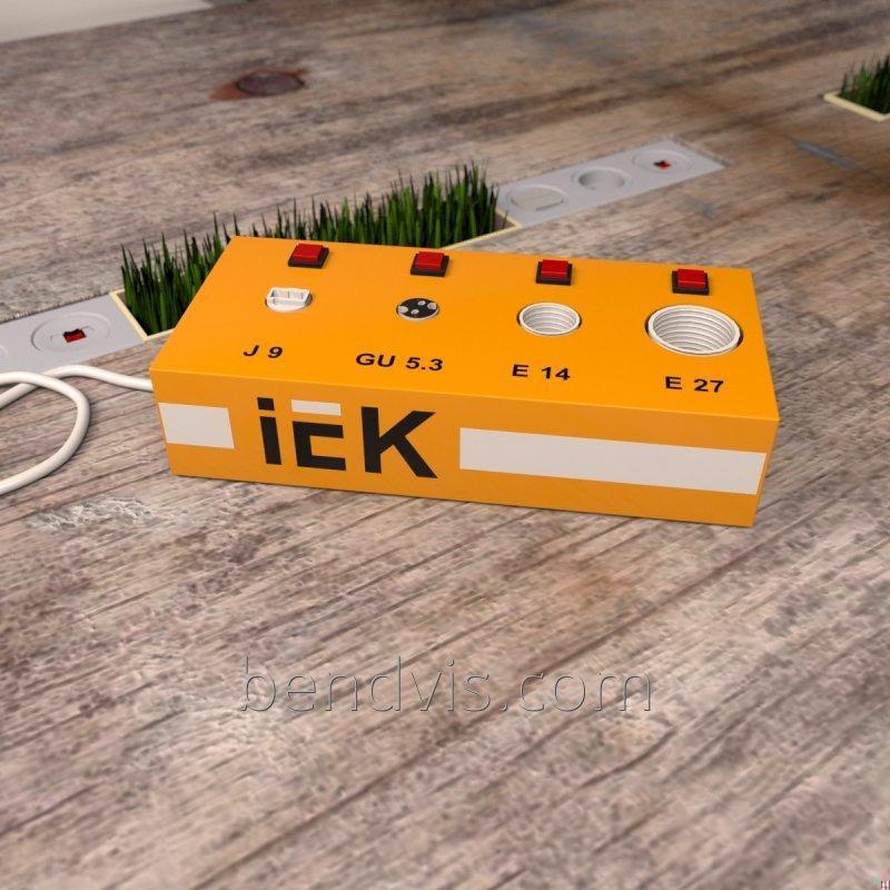 Тестер для проверки ламп IEK