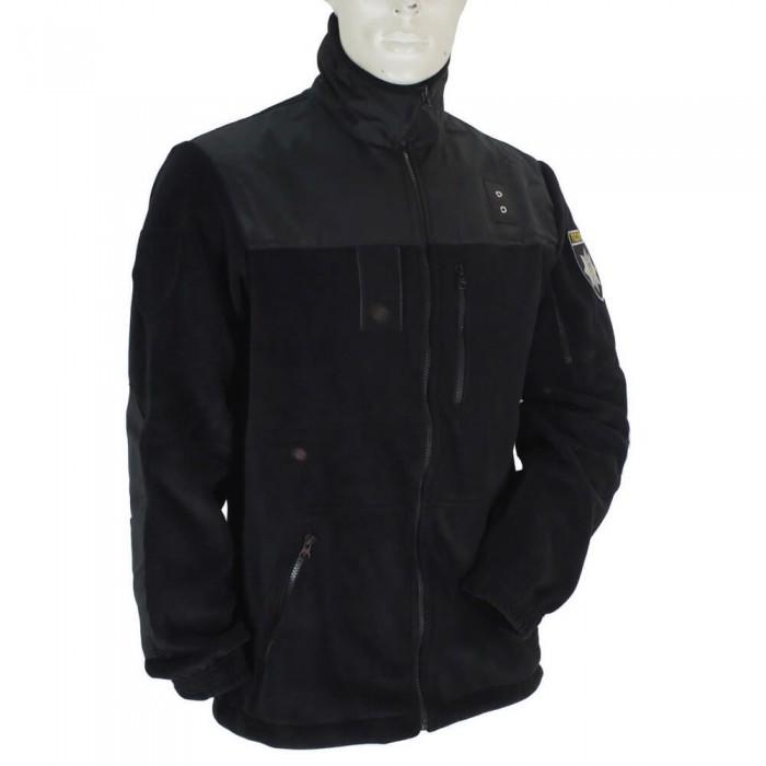 Купить Кофта флисовая Полиция черная