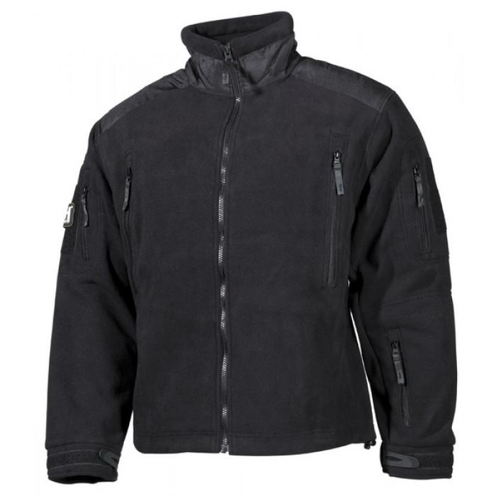 """Купить Флисовый свитер """"Heavy-Strike"""", black 03841A"""