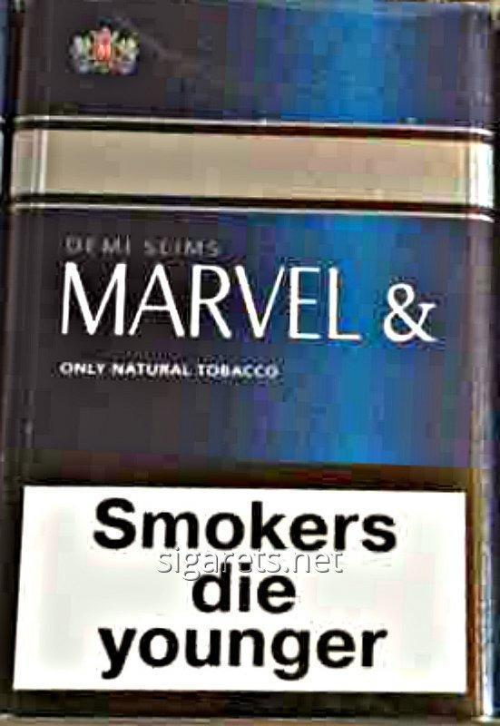 Сигареты Марвел деми синий 25 шт XXL