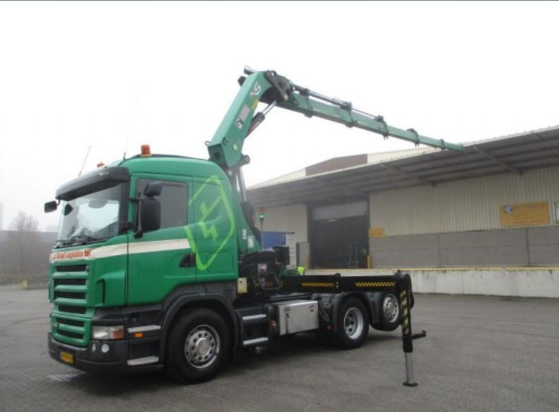 Купить Тягач с краном Scania 380 A 6X2*4 Retarder