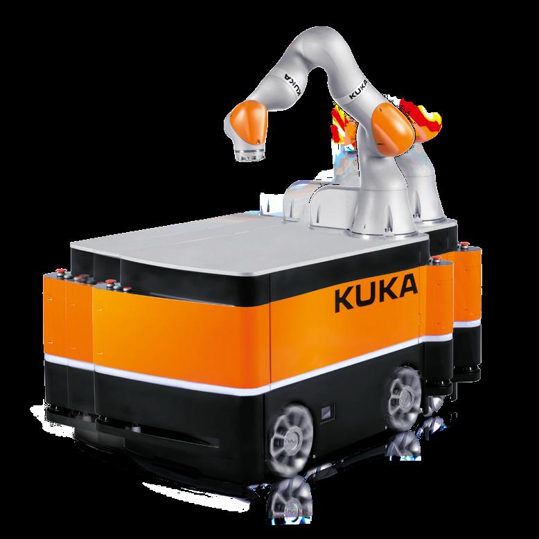 Купить Автономный робот KMR Iiwa