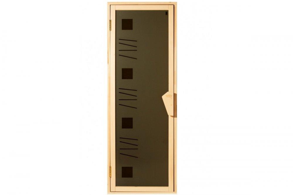 Дверь для бани и сауны Tesli Alfa Art 1900 x 700, Харьков