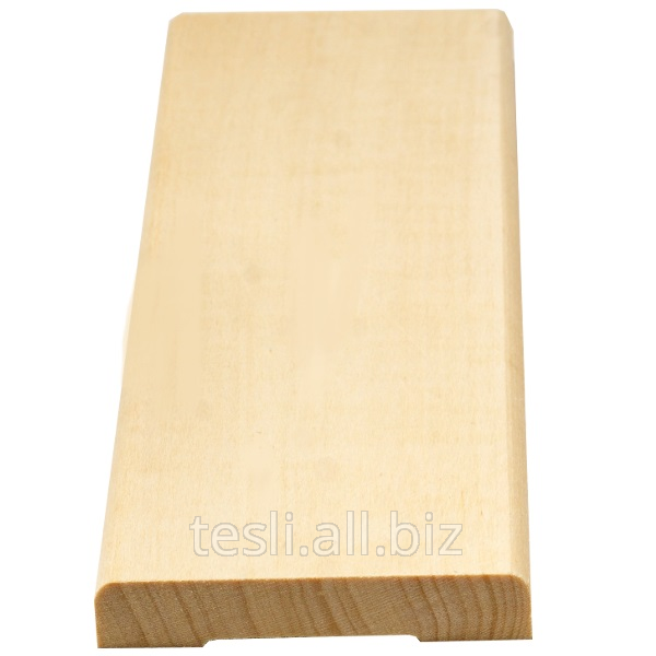 Купить Погонажные изделия, рейка из дерева монтажная