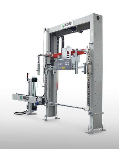 Вертикальная автоматическая обвязочная машина VR80 (Messersi)