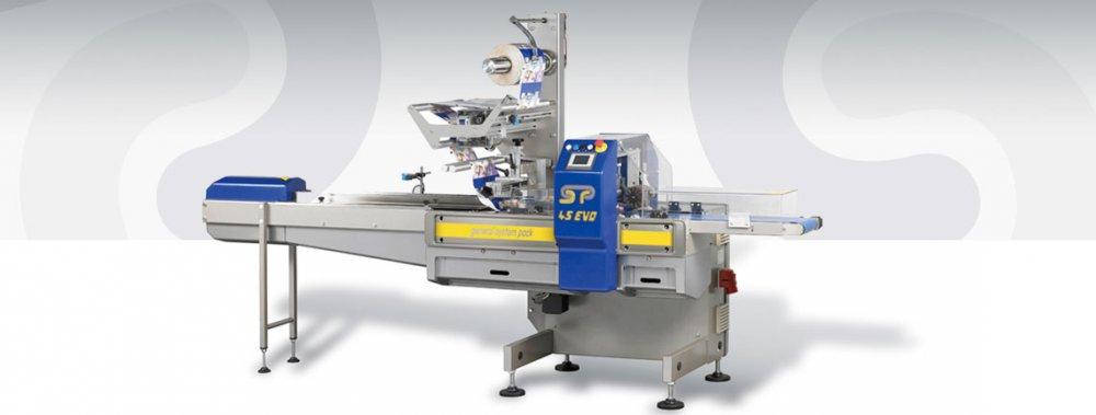 Купить Горизонтальная упаковочная машина GSP 45 S (General System Pack)