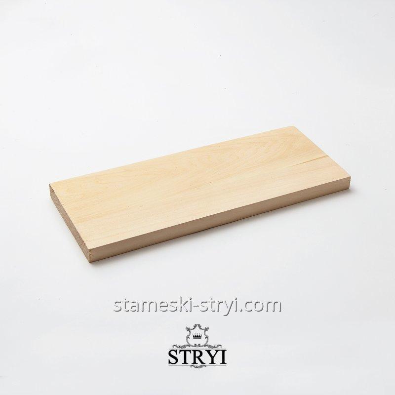 Заготовка доска деревянная, для резьбы по дереву, липа, размером 300*120*15мм, арт.703012