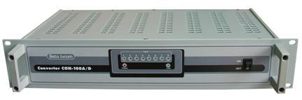 Блоки цифровые серии CON и MCD головной мультимедийной станции UWDS