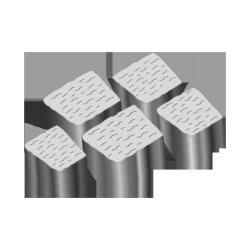 Тротуарная плитка Альпийская 60 серый