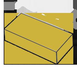 Купить Кирпич одинарный желтый