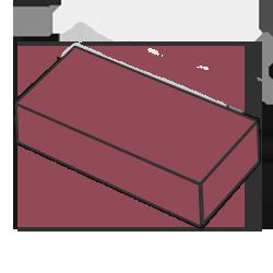 Кирпич одинарный красный