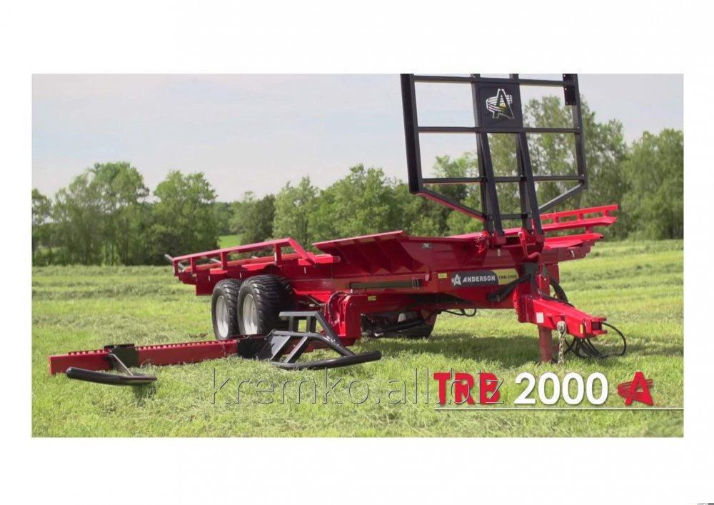 Buy Automatic loader (senazh in packing) round bales of Anderson TRB2000