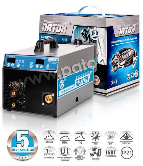 Купить Инверторный цифровой полуавтомат ПАТОН ПСИ-160S(5-2)