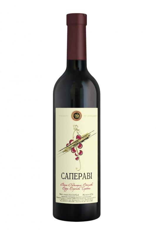 """Купить Вино """"Саперави"""" сухое сортовое красное,0,75 л"""